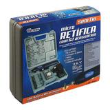 Mini Micro Retífica A Bateria Sem Fio + 62 Acessorios Bivolt
