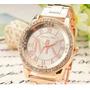 Oferton Arequipa Reloj De Metal Mk - Dorado Y Plata