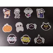 100 Tags, Topper, Apliques Para Festas - Halloween Mod. 01
