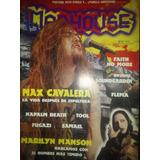 Revista Madhouse Sepultura Flema Marilyn Manson