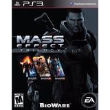Mass Effect Trilogy Fisico Nuevo Ps3 Dakmor Canje/venta