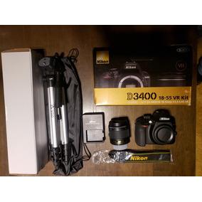 Nikon D3400 Casi Sin Uso. Completisima