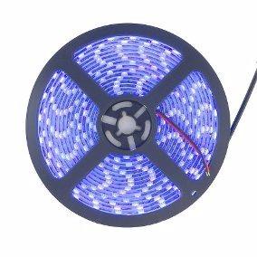 Tira De Led Ultravioleta 5050 5 Metros Exterior Uv Luz Negra