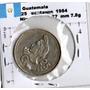 Monedas Mundo Guatemala 25 Centavos 1984 Cu2