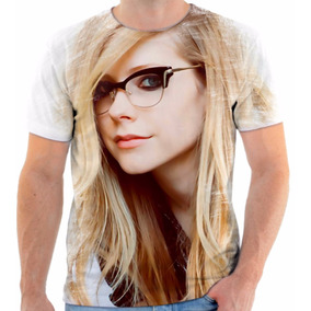 Camiseta Camisa Avril Lavgne 2 Cantora Rock Frete Grátis