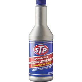 Liquido Para Dirección Hidráulica Y Tapa Fugas Stp 354ml