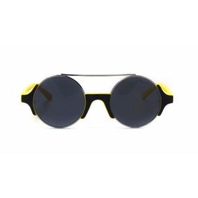 Lentes De Sol Synergy Negro-amarillo 2247