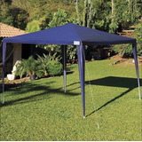Tenda Praia Gazebo 3x3 Mor Barraca Camping