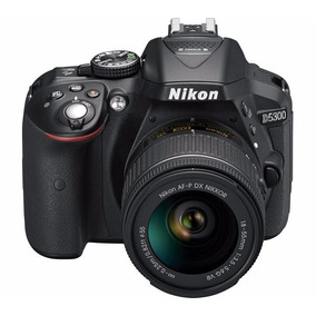 Cámara Nikon D5300 Kit 18-55 Mas Memoria De Regalo!!