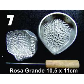 Frisador Modelagem De Flores Tecidos E Eva Rosa Grande 07