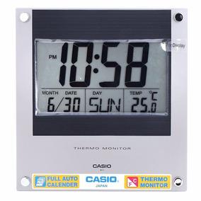 Reloj De Pared Casio Id-11-1d Termometro Envios Nacionales!!