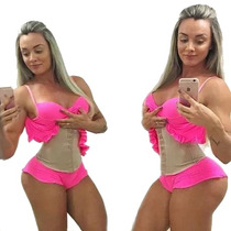 Cinta Modeladora Juju Cinturita Feminina Original Redutora