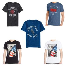 Camisa Camiseta Original Aeropostale Levis Quicksilver Masc.