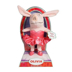 Peluche Olivia Bailarina, 20 Cm Importado Envio Gratis