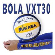 Bola Mikasa Vxt30 Praia Original Nota Fiscal* Frete Grátis*