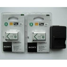 2 Baterias Sony Np-bx1 Frx1 Rx100 Hx300 + Carregador Bivolt