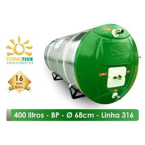 Reservatório Boiler 400 Litros 316 Bp D68 Aquecedor Solar