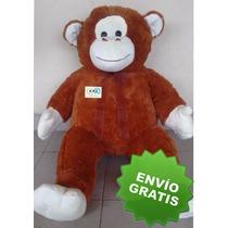 Oso Chango Mono Gigante De Peluche 135 Cm Envio Gratis!!