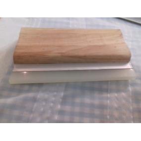 Rastrero De Madera Con Aluminio 30cm