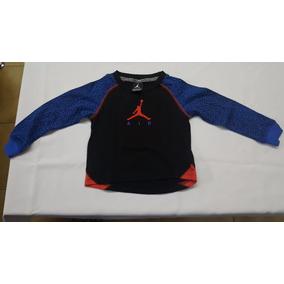 Remera Nike Jordan Manga Larga Para Niño Talle 3t (2-3años)