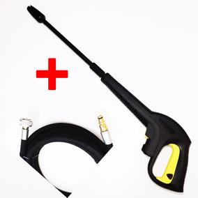 Pistola Tubeira Original +5mt Mangueira Nylon Karcher K 3.30