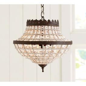 Lámpara Colgante Pottery Barn Elegante Lujo Techo Moderna