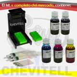 Kit Recarga Tinta Cartuchos Mp250 Mp280 Canon 210 211