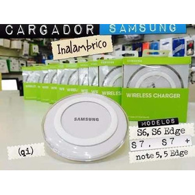 Cargador Inalambrico Samsung Galaxy Original S6 S7 Note Edge