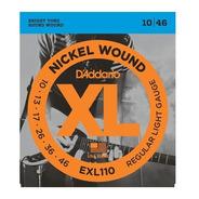 Daddario Exl110 Encordado 010 Guitarra Electrica