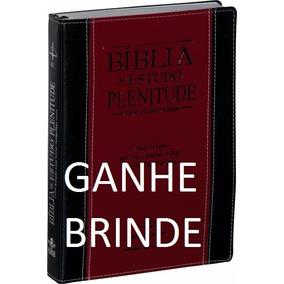 Bíblia De Estudo Plenitude Lx Palavras De Jesus Em Vermelho