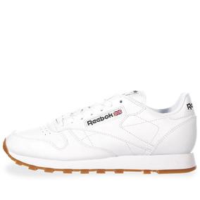 Tenis Reebok Cl Lthr - 49799 - Blanco - Hombre