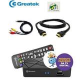 Conversor E Gravador Digital Greatek G200 Fullhd - Promoção