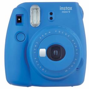 Câmera Fujifilm Instax Mini 9 Azul Cobalto + Filme 10 Fotos