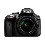 Nikon D3300 Con Af-p Dx Mm Vr Digital Slr - Negro