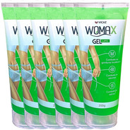 Gel Lipo Redutor Medidas Queima Gordura Womax 6 Potes