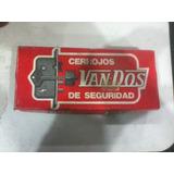 Antiguo Vintage Cerrojo Van-dos Seguridad 720 La Plata