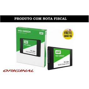 Ssd 120gb Western Digital Wd Green Sata 2,5 Pol 7mm + Nfe