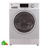 Lavarropas Ge Appliances Frontal Lvge18e12m 8kg Metalico