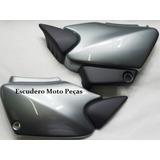 Tampa Lateral Honda Titan 125 Es /ks / Kse Cor: Prata