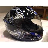 Capacete Helmet V21 Modelo C629 Racer Tamanho 60 Nbr 7471