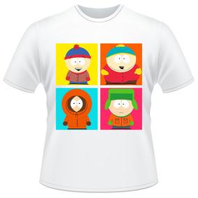 Camiseta Infantil South Park Kyle Stan Eric Kenny Camisa #02