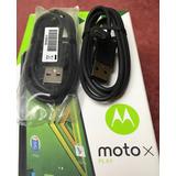 Cable De Datos Moto X Play 100 % Original Motorola Nuevo