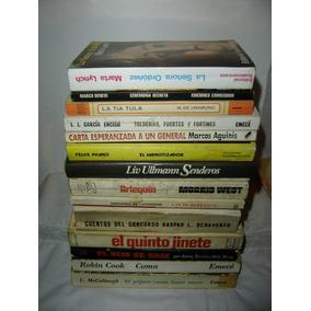 Lote De 14 Libros Literatura Novelas