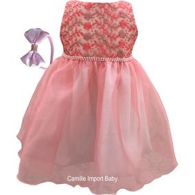 Vestido De Criança Festa E Casamento Infantil Promoção