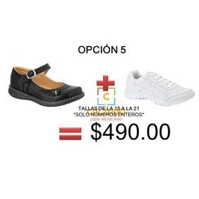 Calzado Escolar Zapato Y Tenis Niña Con Envio Incluido