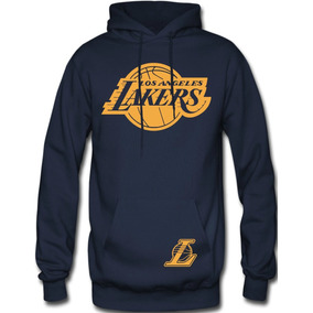 Sudadera Los Angeles Lakers Nba Hoodie Capucha Con Cangurera