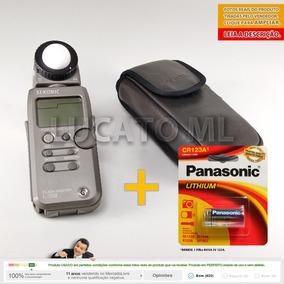 Fotômetro Sekonic L358 Flashmaster + Cr123a +fretegrátis Ap