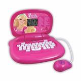 Laptop Infantil Pc Barbie Dream 30 Atividades Candide