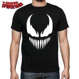 Camiseta Venom Spiderman Marvel Comics