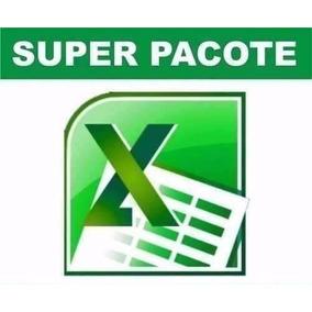 1600 Planilhas Em Excel - Super Pacote 100% Editável